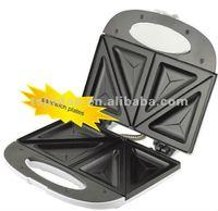 hot sale portable home use 2 slice sandwich maker