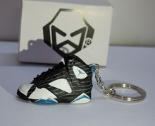 3D mini air jordan shoes keychains