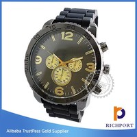 Hotsale luxury Japan movement watch fashion quartz watch for men