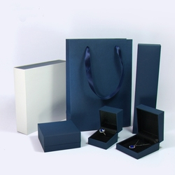 OEM Customize High Quality Luxury Shopping Jewelry Paper Bag