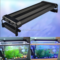 LED plastic round fish tank with air quality detector round fish tank