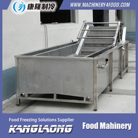 New Brand Vegetable Bubble Cleaning Machine With Good Quality