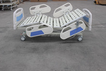 Hot sale!New Sample-Three function electric hospital bed with 4 small-part side rails