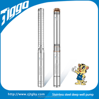 2015 Hot selling Tiggo 4STM Stainless Steel Submersible Electric Deep Well Water Pump