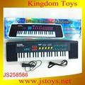 Los niños 2015 piano, piano de juguete con micrófono, piano de juguete