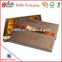 High Quality Fashion Wedding favour gift chocolate box Wholesale
