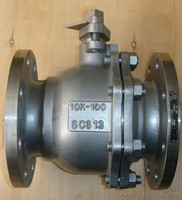 JIS Cast Steel flanged ball valves made in China