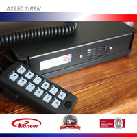 AS950 siren for Fire truck 4 way light control -400w 11ohm 12v
