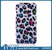 "Back Cover for iPhone 6 4.7"", Mobile Phone Case for Girls, Leopard Style Plastic Case for iPhone 6"
