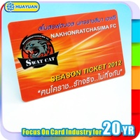 signature panel smart id card/pvc business card