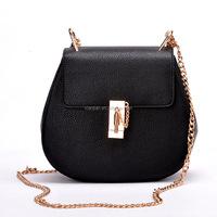 Wholesale High Quality Lady Drew Bag/Jinjing Chain Pig Chain Cross Body Lady Sling Bags (XJFS1)