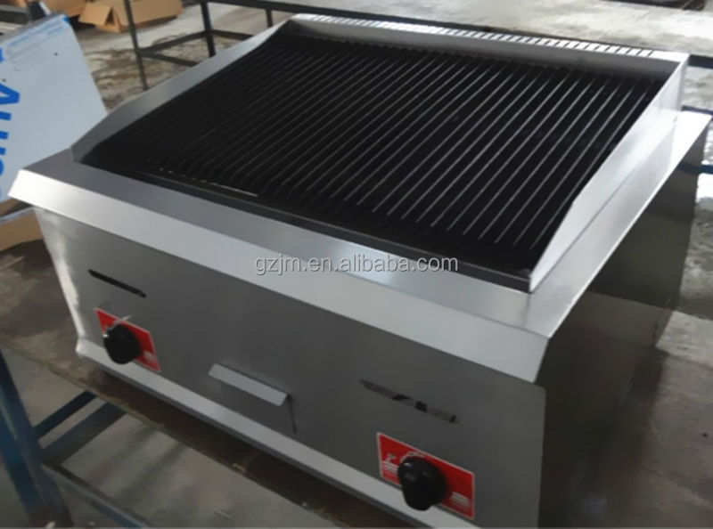Commercial Kitchen Equipment Counter Top Gas Lava Rock Grill View Counter Top Gas Lava Rock