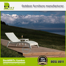 Patio Outdoor furniture aluminium Beach sun lounger