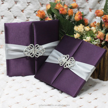 2016 Hot Sales Novelty Product Fancy Wedding Invitation Cards in Box
