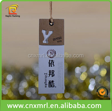 2015 Hot Sale Customized Paper Swing Hang Tags