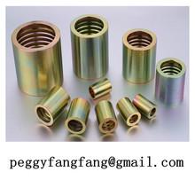 Art.10072 Schalhulse R2A-2SN-1/4 Steel Ferrule For SAE 100R1/R2/R4 Hose 00210 pipe ferrule fitting