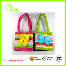 Colorful butterfly Christmas candy handbags