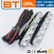 High Quality !!! Waterproof LED High Power Car Driving Lights Daytime Light Running Lamp COB DRL