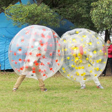 Direct manufacturer football bubble ball for sale