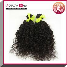 Alibaba Qingdao Cheap Wholesale 100% Unprocessed Brazilian Virgin Human Curly Hair Weave