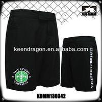 OEM crossfit clothing black blank stretch mma apparel