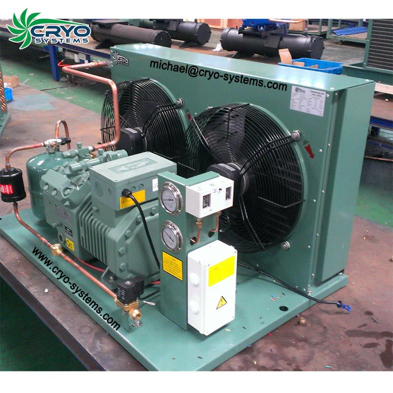 refrigeration compressor freezing condensing unit for