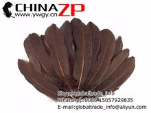 Best selling plum Factory Wholesale in Stock Brown Goose Loose Feathers