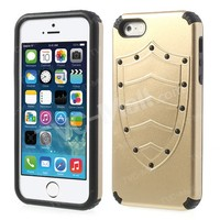 Where To Buy Case For iPhone 5S ? Latest Cool Shield Design PC + TPU For iPhone 5S Case At TVC-MALL