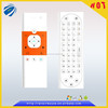 Infrared remote control with 2.4g wireless fly mouse keyboard China supplier