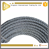 6x12+7FC galvanized tugboat steel wire rope