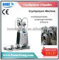 Belleza 4 cryo maneja criolipolisis máquina adelgazante cuerpo