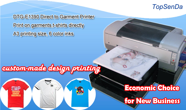 Digital 6 color cheap t shirt printing machine prices in for T shirt printing design software