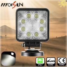 "High brightness 27w led spotlight 4.5"" car accessory 27w led worklamp"