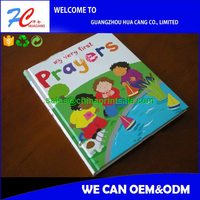 high quality art paper children book printing with hard cover
