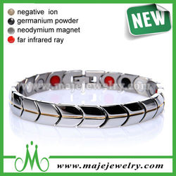 Elegant design stainless steel bracelet parts energy products