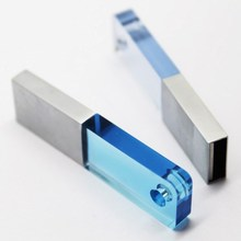 Crystal 8GB Top quality usb flash pen drive 500gb