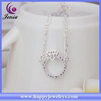 Newest arrival fashionable design 925 silver anklet anklet payal CA009