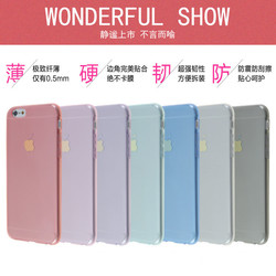 For Apple iPhone 6 Soft TPU Case Clear Crystal Silicon Mobile Phone Case for iPhone6 Wholesale