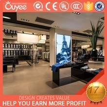 Chinese man clothes display retail store design for man clothes shop