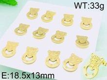 Animal Leopard Stud Earrings Wholesale Small Gold Earrings