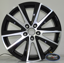 17x7.0 5x112 alloy wheels with good quality and high performance