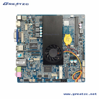 ZC-3227U Intel Ivy Bridge I5-3337U Dual Core Motherboard Fan Mini Itx Mainboard With LVDS