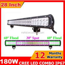 180W dual row wholesale offroad led light bar