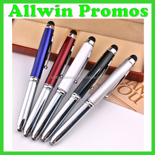 Customized Ballpoint Stylus Pen with Light