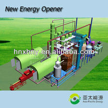 HOT waste plastic recycling to fuel pyrolysis plant