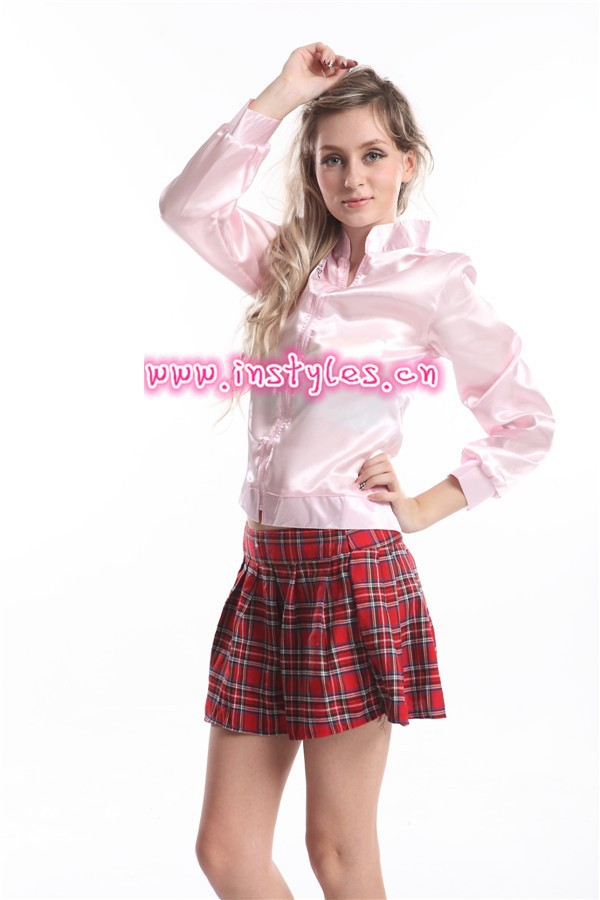 walson di halloween per adulti signora costume rosa giacca grasso donne adulte