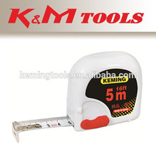 color blanco cinta de medir una cerradura de plástico