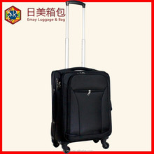 China factory fashion polyester 3pcs Aluminum trolley bags