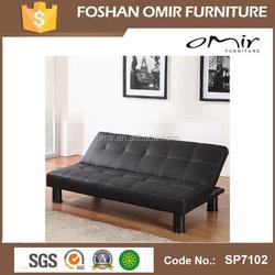 SP7102 l shape sofa cum bed cover pu leather