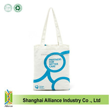 Customized Cotton Canvas Tote Bag With One Color Customized Logo